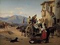 Jørgen V. Sonne - Romerske landfolk drager til marked - KMS364 - Statens Museum for Kunst.jpg