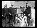 J.J. Jusserand, Edwin Denby and memorial plaque, Arlington National Cemetery, Arlington, Virginia LCCN2016891300.jpg