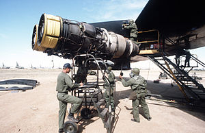 Pratt & Whitney J57 - J57s on a B-52D