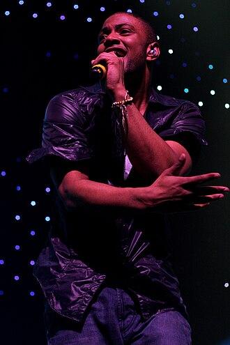 JLS - JB performing on tour.
