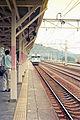 JRE Yokokawa Station platform 19970716-4.jpg