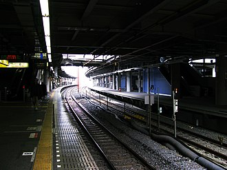 Shinagawa Station - Image: JR Shinagawa sta 001