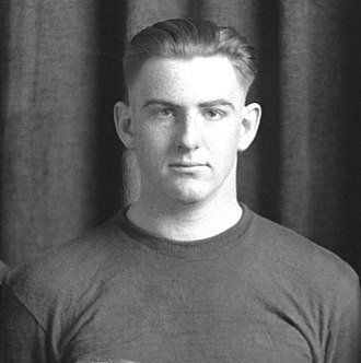 1923 College Football All-America Team - Jack Blott of Michigan.