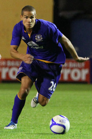 Jack Rodwell - Rodwell playing for Everton in 2011