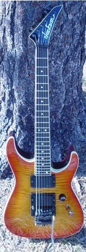 Jackson Guitars - Soloist model.