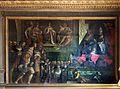 Jacopo ligozzi, Bonifacio VIII riceve i dodici ambasciatori fiorentini, 1591, 01.jpg
