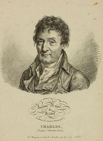 Jacques Charles - Jacques Alexandre César Charles, 1820