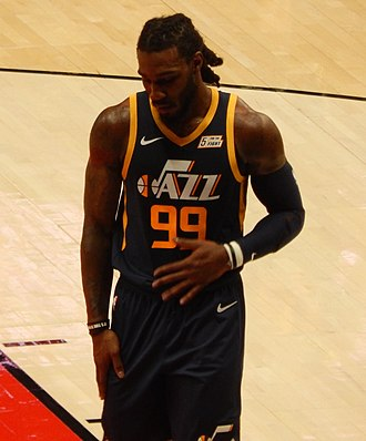 Jae Crowder - Crowder with the Jazz in October 2018