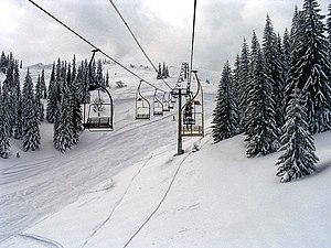 Jahorina - Image: Jahorina ski lifts