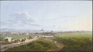 View of Vienna from the Spinner on the Cross