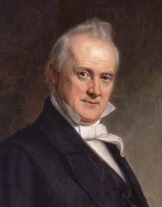 William R. King - James Buchanan, (1791–1868), 15th President of the United States (served 1857–1861). He shared a Washington boardinghouse with his friend and colleague, William R. King.