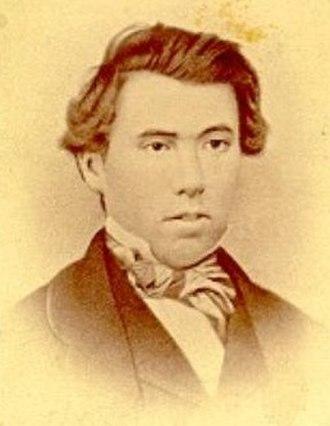 James J. Hill - Hill circa 1856