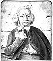 James Johnstone, physician of Worcester. Drawing. Wellcome L0022459.jpg