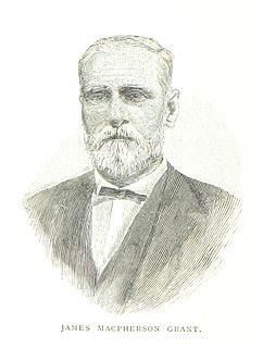 James Macpherson Grant Australian politician