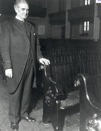 James Shera Montgomery - The Rev. James Shera Montgomery