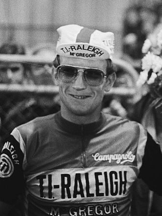 TI–Raleigh - Jan Raas at the 1978 Tour de France