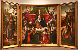 Triptych of Our Lady of Mercy