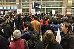 January 2017 DTW emergency protest against Muslim ban - 04.jpg