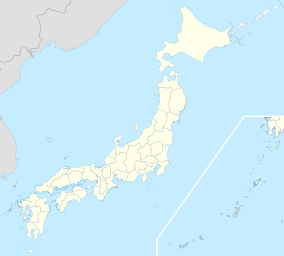 Map showing the location of Shiretoko National Park