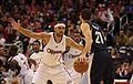 Jared Dudley guarding Tayshaun Prince 20131118 Clippers v Grizzles.jpg