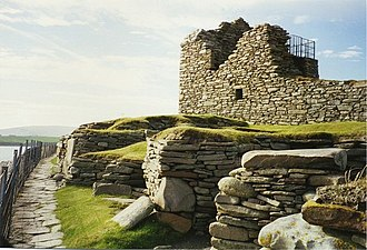 The Pirate (novel) - Old House of Sumburgh