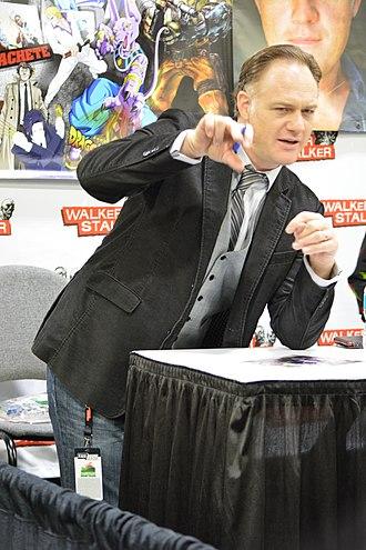 Jason Douglas - Douglas at the 2016 Walker Stalker Con in Atlanta, Georgia