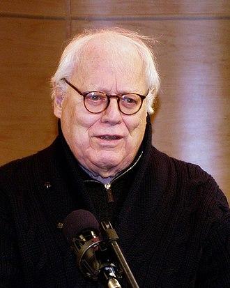 Jason Epstein - Epstein announcing the 2010 National Book Critics Circle's Ivan Sandrof award for lifetime achievement; Epstein won the award in 2001.