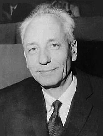 Jean Dausset - Dausset in 1968