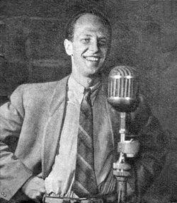 Jeremi Przybora Polish radio writer 1951.jpg