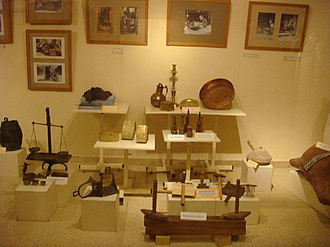 History of Casablanca - Artifacts in the Jewish Museum of Casablanca.