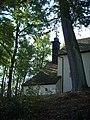 Jihlava, Kostel svatého Jana Křtitele věž 2.JPG