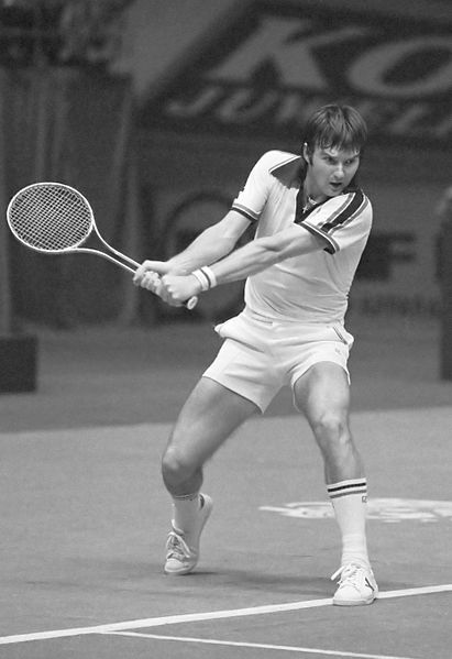 Jimmy Connors (Wikimedia)