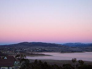 Jindabyne Dam - Image: Jindabyne