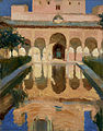 Joaquin Sorolla y Bastida - Hall of the Ambassadors, Alhambra, Granada - 79.PA.154 - J. Paul Getty Museum.jpg
