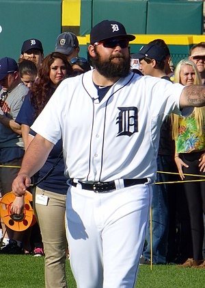 Joba Chamberlain - Chamberlain with the Detroit Tigers in 2014