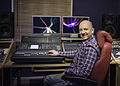 Joe O'Connor at the sound desk of his Surrey studios.jpg