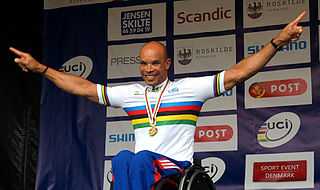 Joël Jeannot French wheelchair racer