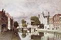 Johannes Christiaan Karel Klinkenberg (1852-1924) - Gezicht op de Oude Delft te Delft.jpg