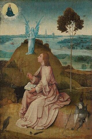 Иоанн на острове Патмос (Иероним Босх, 1504—1505)