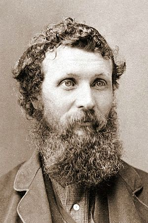 John Muir - Photo of Muir by Carleton Watkins, circa 1875