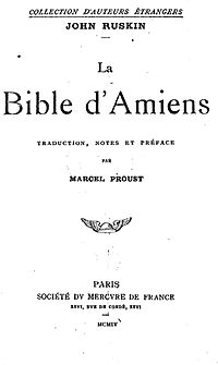 The Bible of Amiens cover