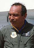 John Waihee of Hawaii visiting Hickam AFB, Sept 16, 1988.jpg
