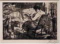 John sloan, la pagina femminile, da new york city life, 1905.jpg