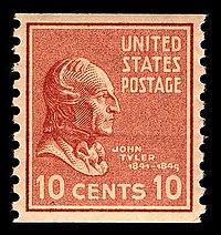 John tyler stamp.JPG