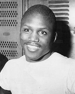 Johnny Saxton American boxer
