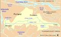 Johnson Creek watershed map.png