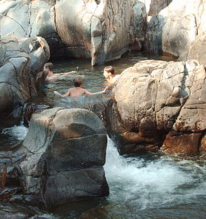 Johnson's Shut-Ins State Park - A portion of the park's natural water park pictured after the 2009 reopening