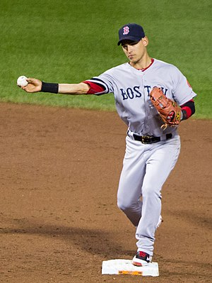 José Iglesias (baseball) - Iglesias playing for the Boston Red Sox in 2012