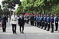 José Luis Martínez-Almeida e Inmaculada Sanz asisten a los actos de celebración de la Policía Municipal por la festividad de su patrón 05.jpg