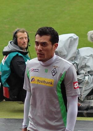 Juan Arango - Arango with Borussia in 2012.